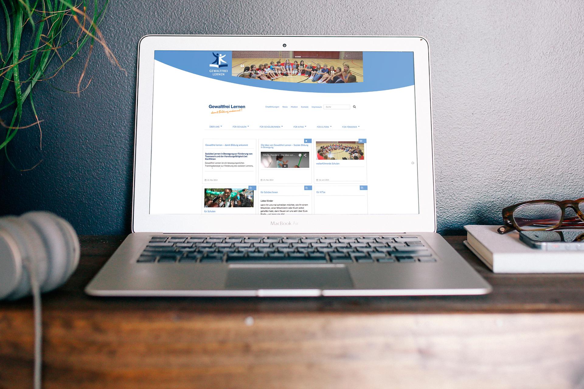 Website Relaunch & Wordpress Theme